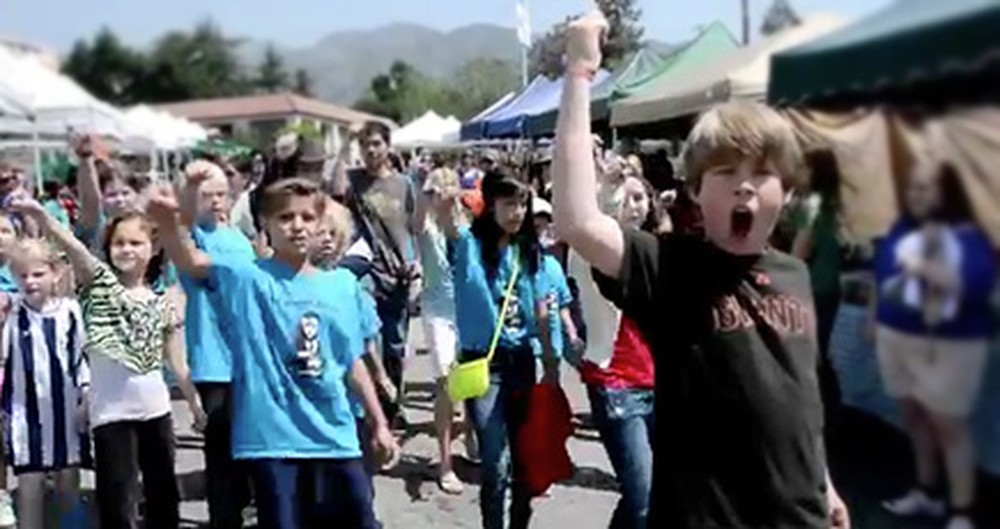 A Group of Children Pull Off a Jaw-Dropping Broadway Flash Mob