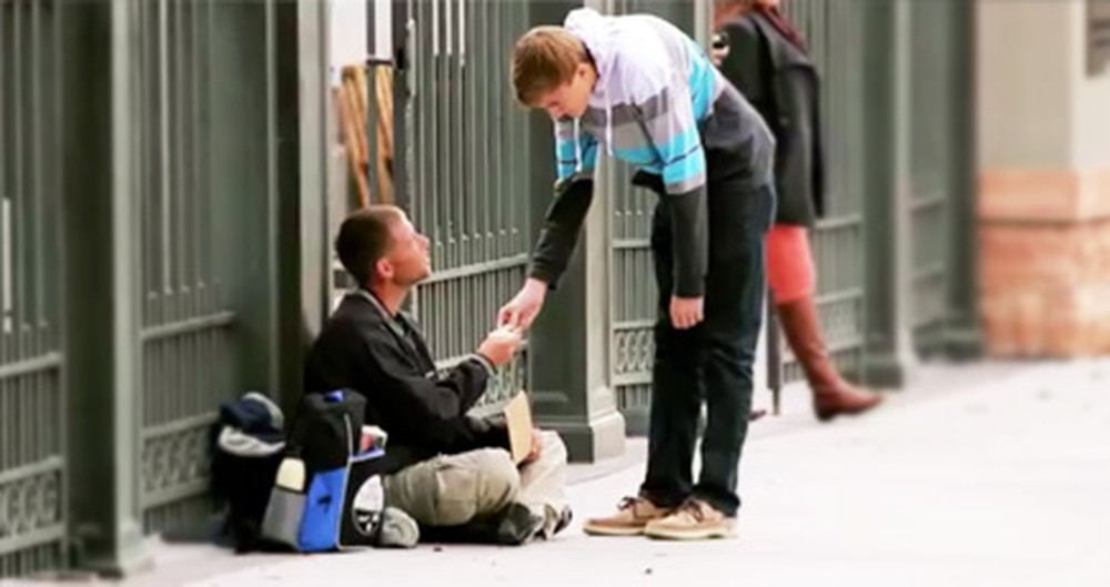 A Young Man Shows Us What True Kindness and Love Looks Like