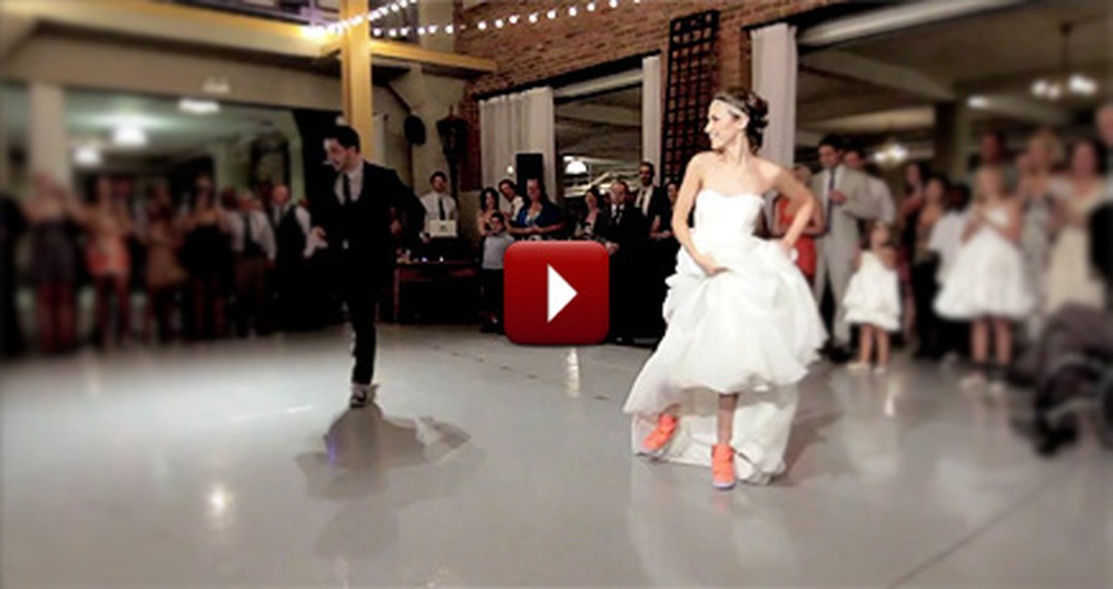 Watch This Fun and Family-Oriented Surprise Wedding Dance - It's Wonderful!