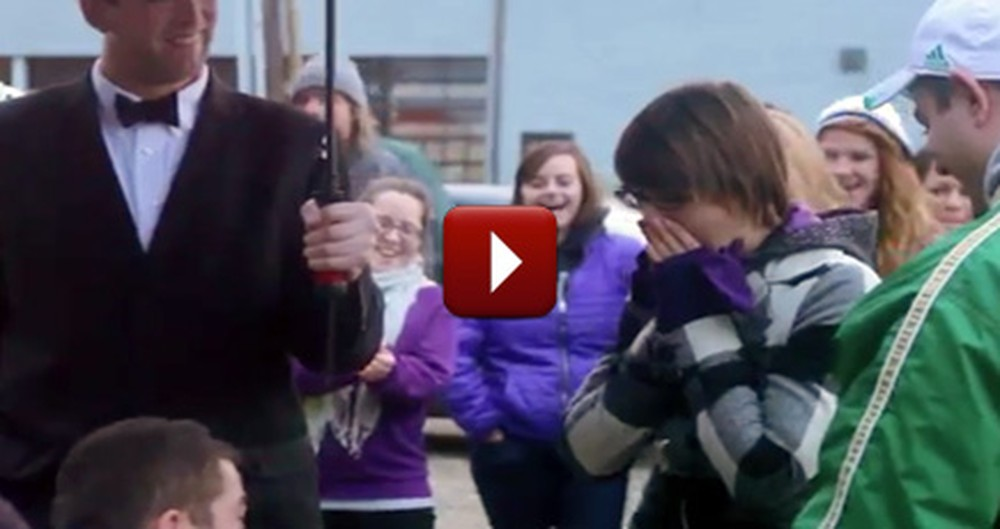 No One Saw This Tricky Proposal Coming... Especially Not the Girl :)