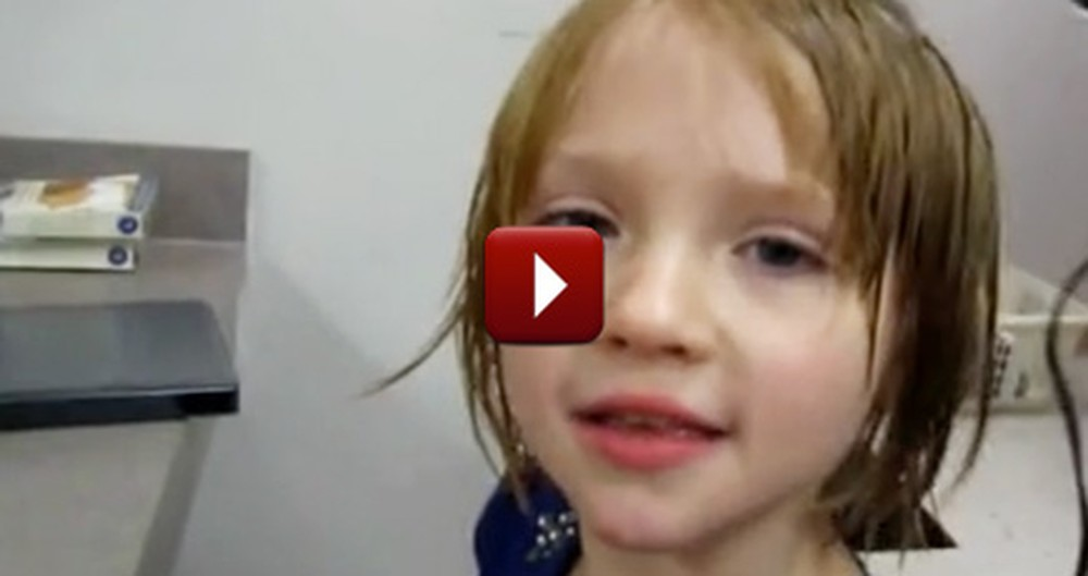 A 6 Year-Old Christian Girl's Faith is So Inspirational - Just Watch!
