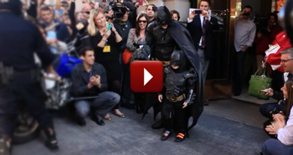 He Battled Leukemia... and Then a Bunch of Bad Guys - Meet Batkid!