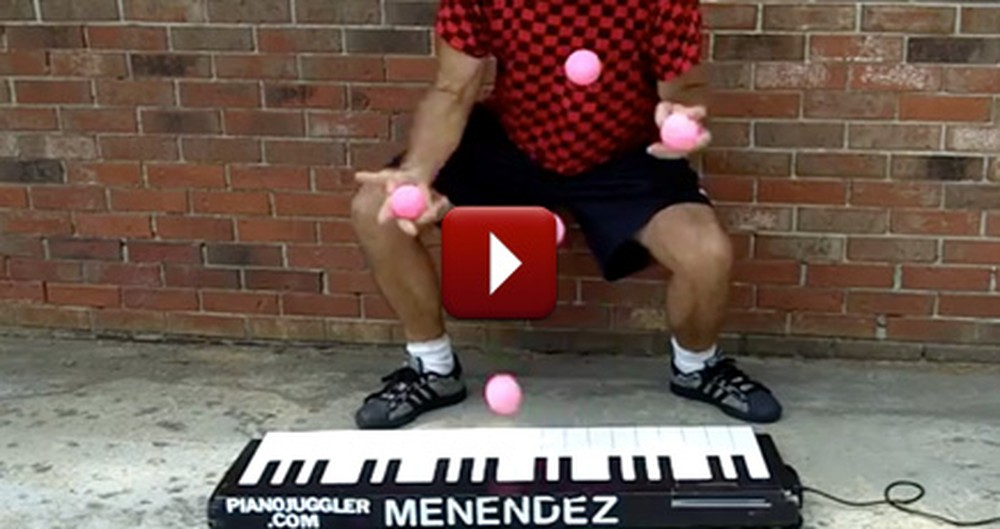 Your Jaw Will DROP When You See What This Man Can Do With a Piano