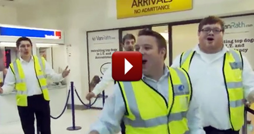 Airport Employees Surprise Travelers with Something They'll NEVER Forget!