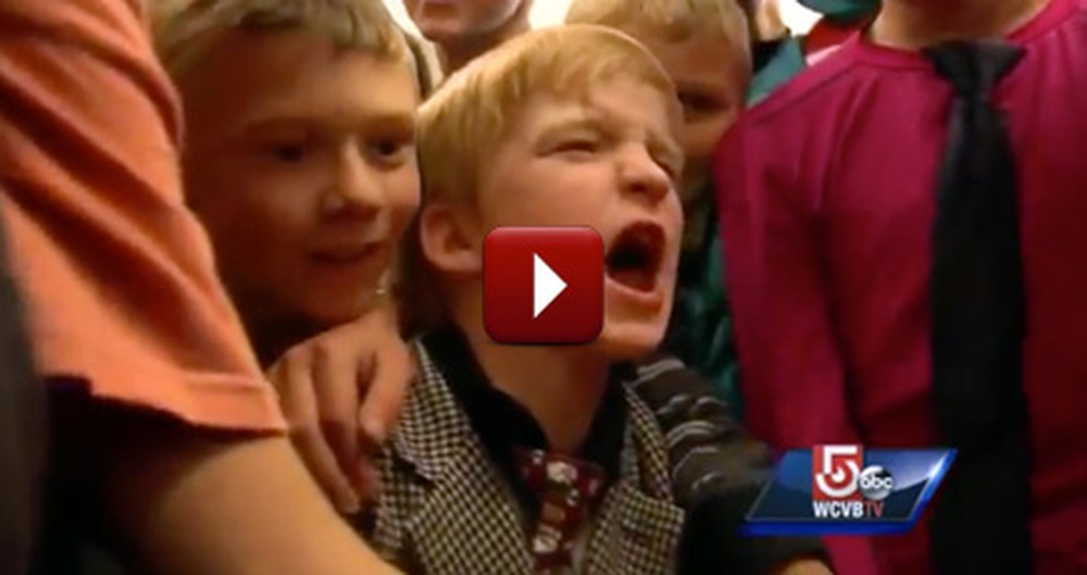 5th Grade Boys Show Unexpected Kindness Towards a Classmate