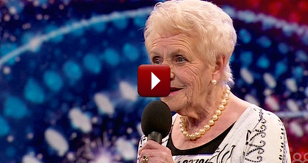 80 Year Old Mother of Seven Auditions and Gives the Judges a Surprise