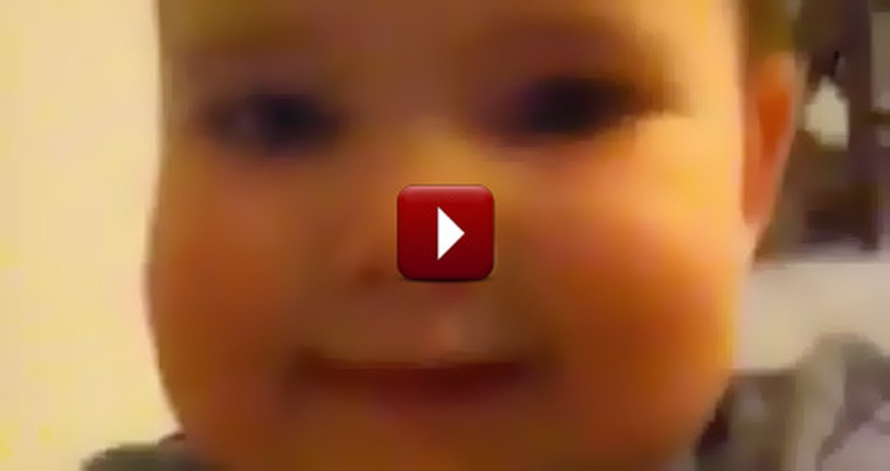 One Mom Discovered This Video on Her Phone... Her Baby Took an Adorable Selfie