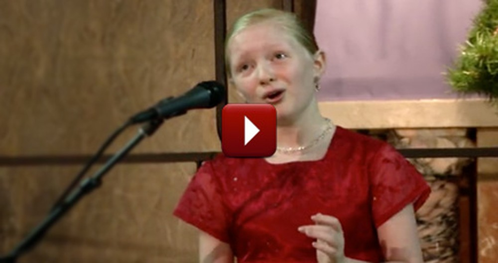 Someone Give This Little Girl a Record Deal - Her Angelic Voice is the Next Big Thing!