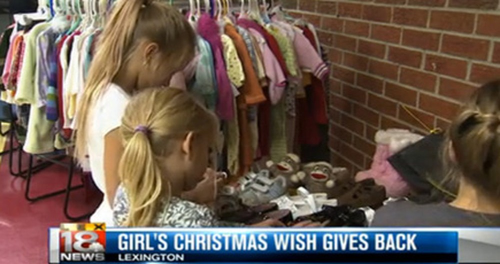 These 4 Young Girls Experienced Hardships in Their Lives - But at Christmas, They Want to Give Back