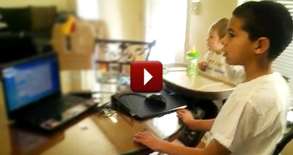 Santa Brought These Two Boys the Best Gift of All - Their Dad