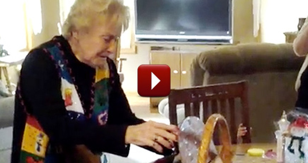 This Grandmother Was Reduced to Tears with This Heartwarming Gift