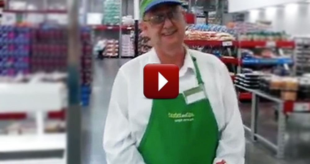 Sweet Sams Club Employee Does the Coolest Thing for Customers