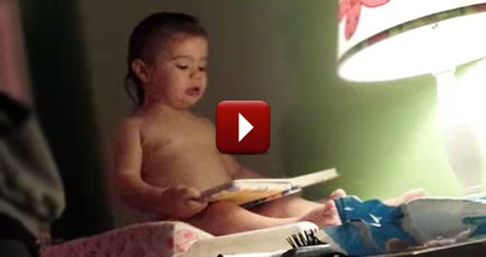 Adorable 2 Year-Old Retells David & Goliath - The Cutest Thing