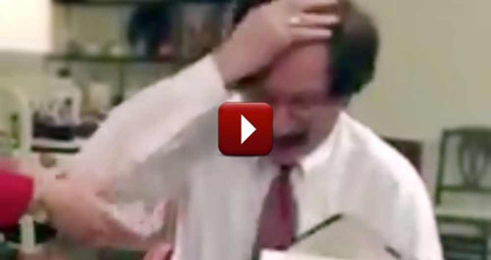 Man With Hearing and Speech Impairment Receives Most Wonderful Surprise