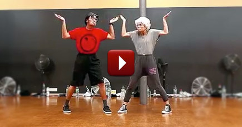 Sweet Couple Dancing Together Puts a Huge Smile on Our Face