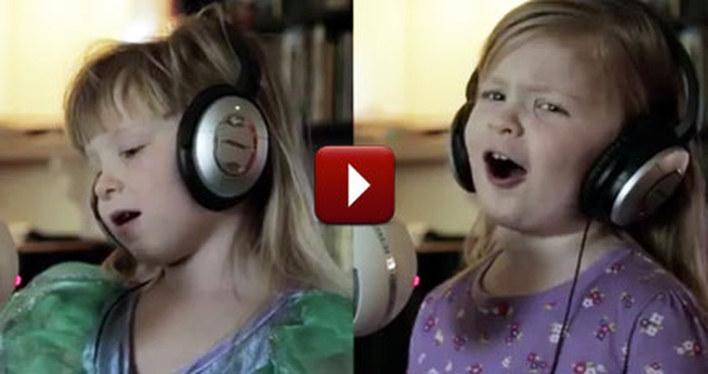 Precious Twins Sing a Disney Song Together You'll Love
