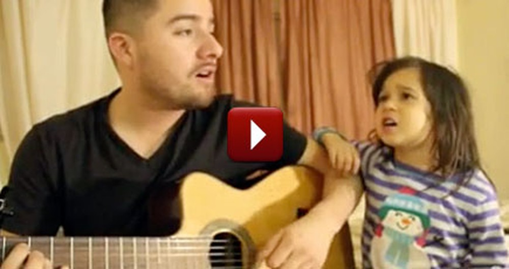 Father and Daughter Cover a Song Together - Fantastic