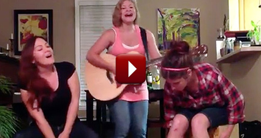 3 Christian Teens Find the Coolest Way to Sing Hymns at Home