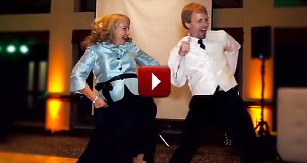 You'll Be Talking About This Mother & Son's Surprise Dance for the Rest of the Year
