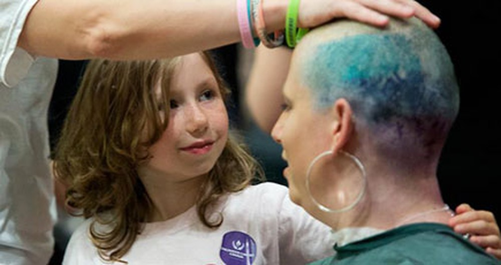 Brave Moms Shave Their Heads for Kids With Cancer