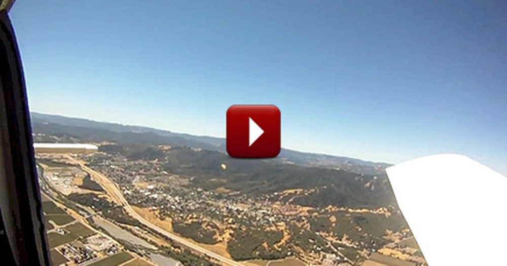 This Camera Was Found 8 Months After Falling Out of a Plane - You'll Never Guess What Happened