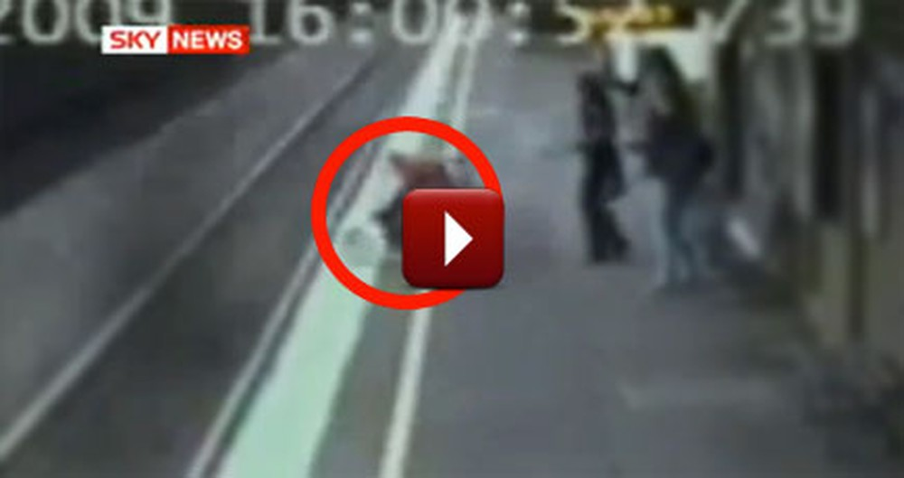 Miracle - Baby Ran Over by a Train Survives With Hardly a Scratch