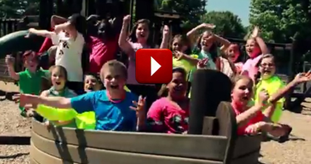 'Listen to the Music' as these Elementary School Kids Wow you With Song--How Uplifting!