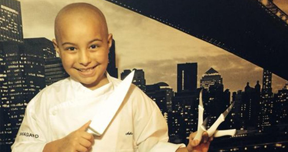 Young Chef Cooks Up a Positive Outlook in His Fight Against Cancer