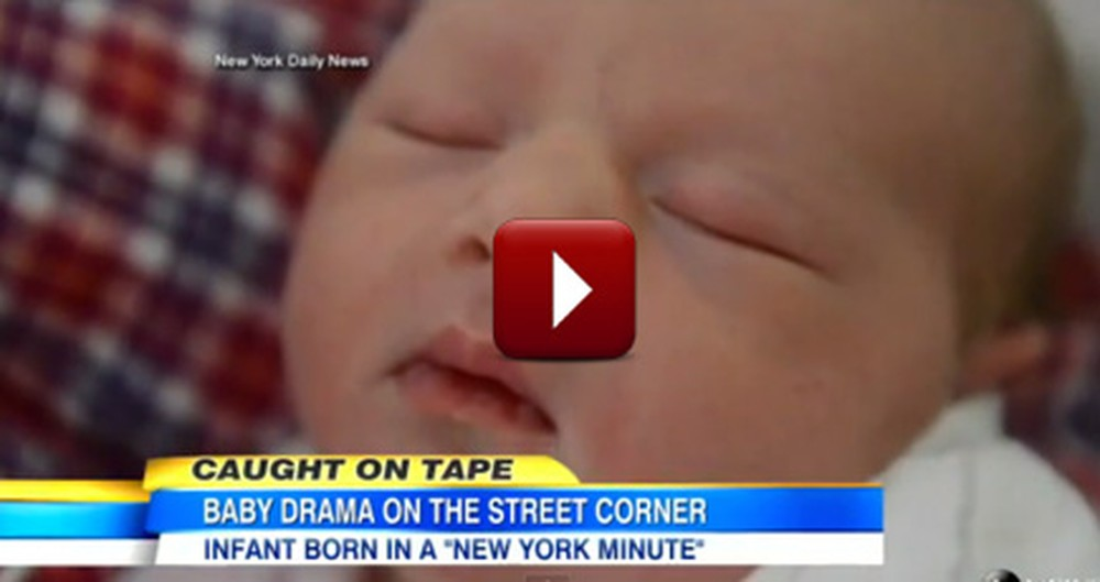'Miracle Mom' Gives Birth on a New York City Sidewalk
