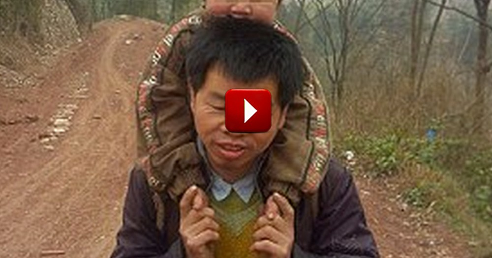 A Father's Dedication to His Disabled Son is Astounding