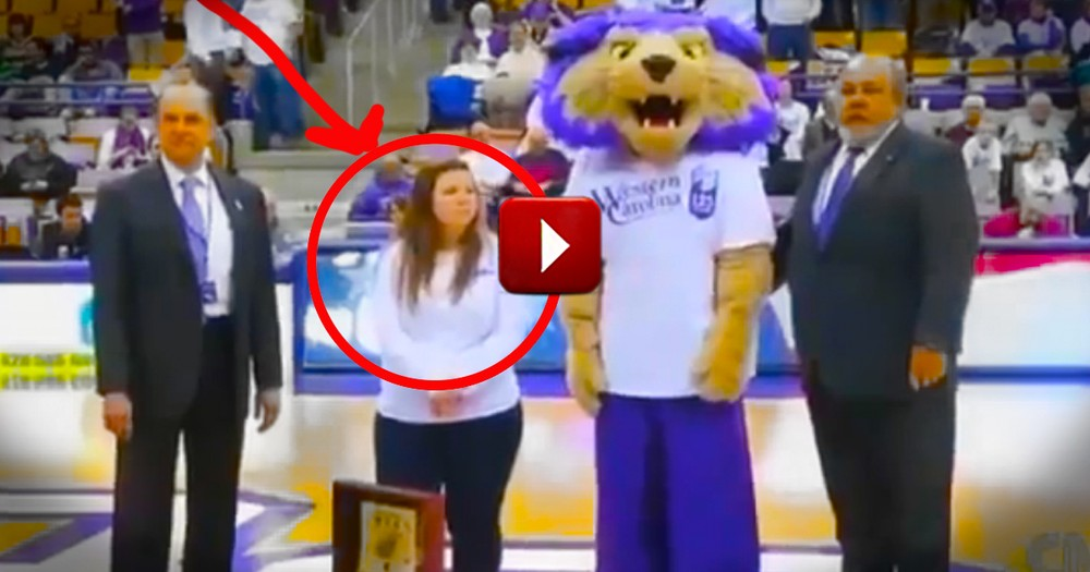 Unsuspecting Daughter Gets BEST Surprise at a Basketball Game