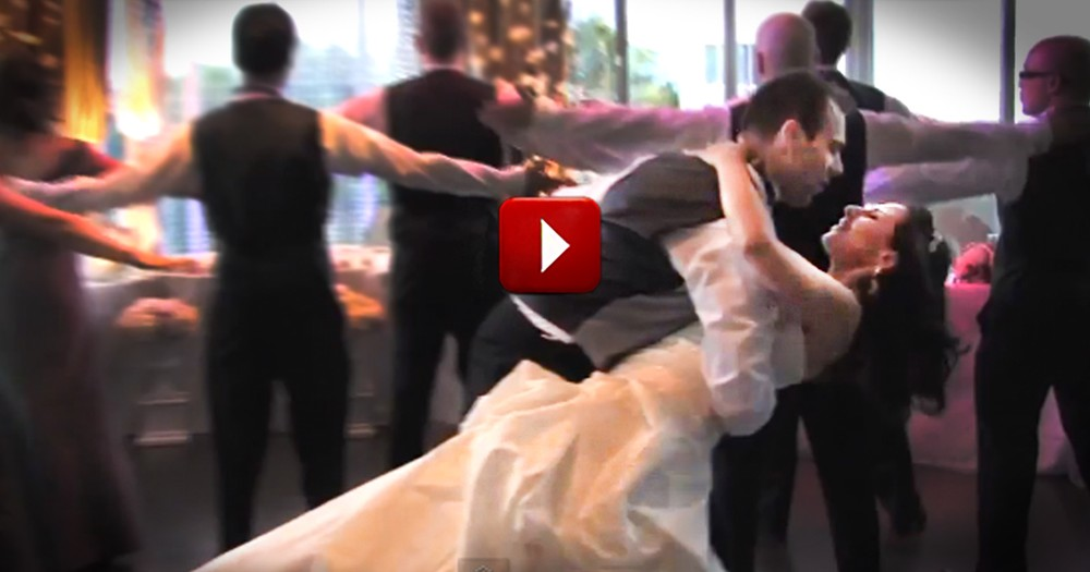Adorable Couple Makes a Surprise Entrance That Will Brighten Your Day
