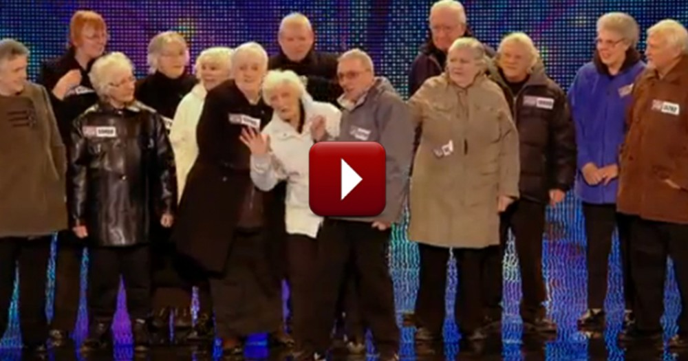 Elderly Group's Performance Will Take You Completely by Surprise