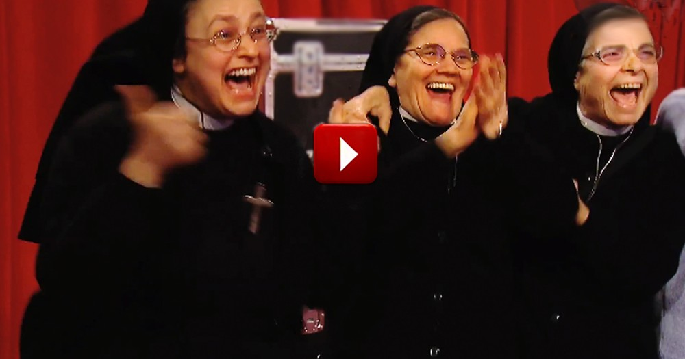 When You See Why These Nuns Were Cheering, Your Mind Will Be Blown :)