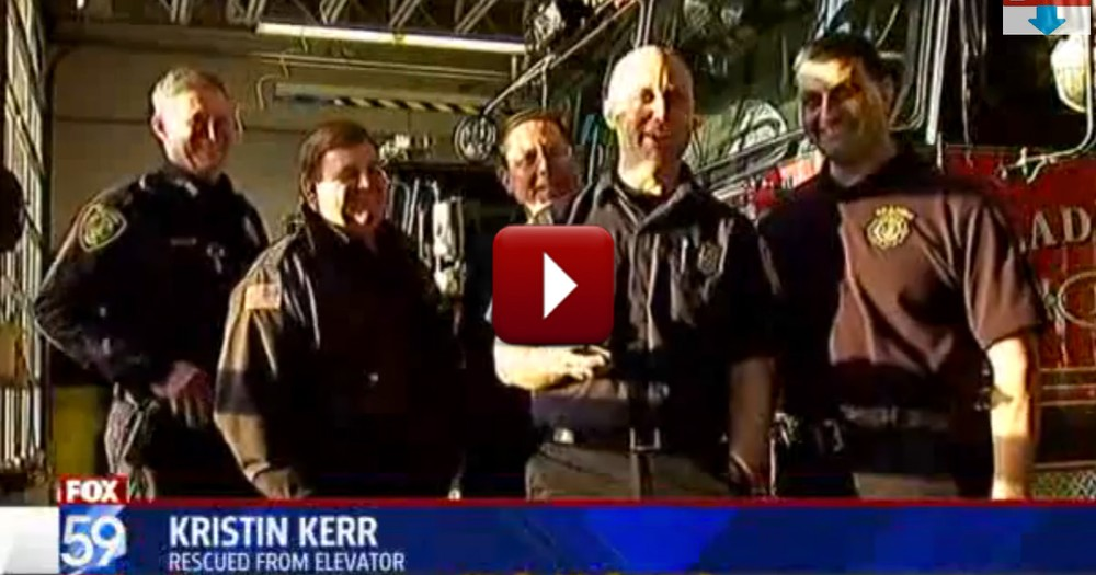Firefighters Do the 'Coolest' Thing to Rescue a Family in Danger