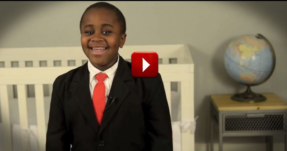 This Kid's Pep Talk Changed My Life. You'll Want to Give Him a High Five