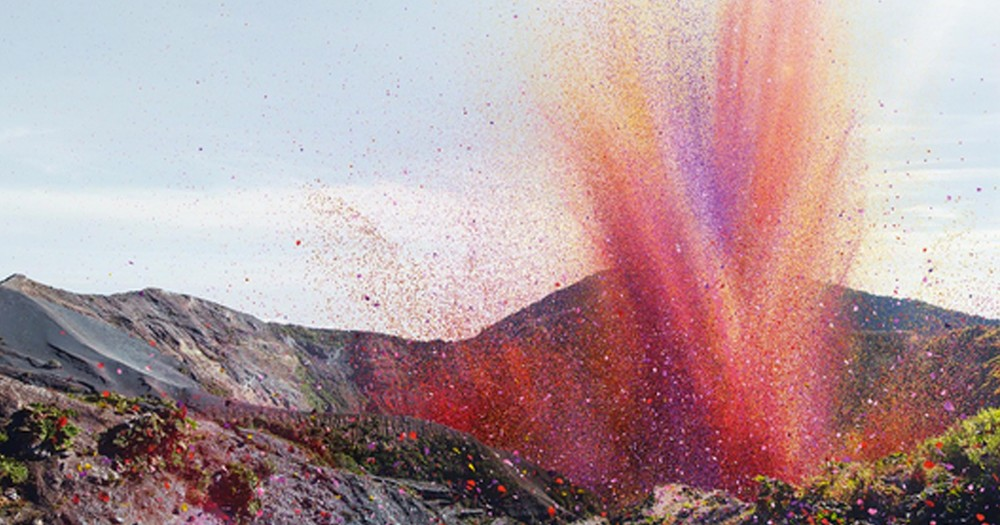 A Volcano Explodes in This Small Costa Rican Town--And Everyone Thinks It's Beautiful!