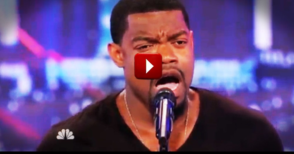 Tough Guy Shocks an Audience With His Voice and Surprise Audition Ending
