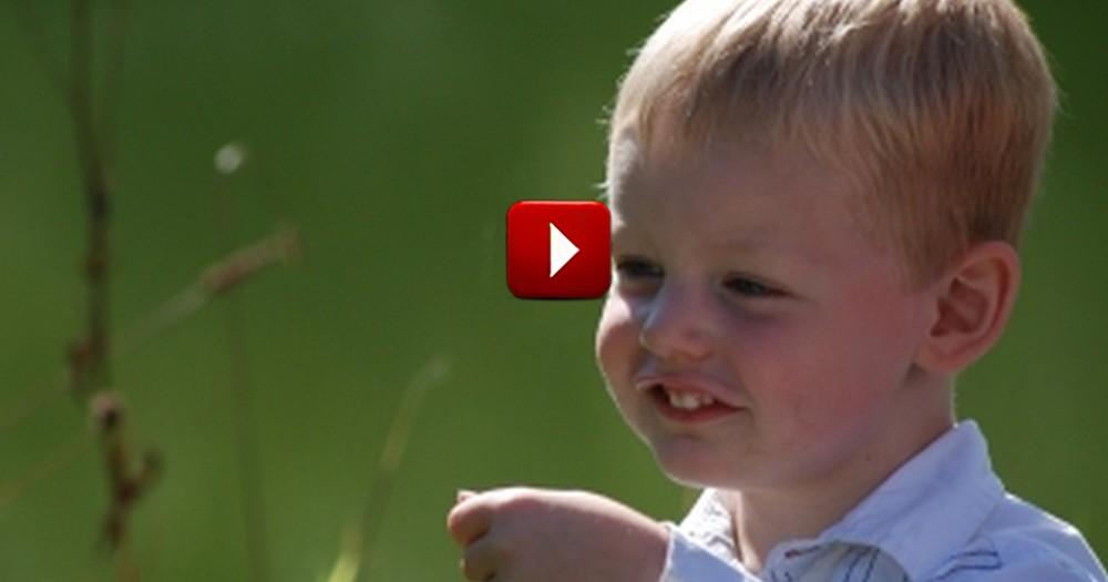 An Innocent Boy Teaches a Man Valuable Lesson about God
