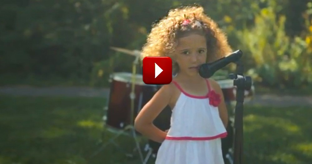 What These Kids Sing is Heartwarming.  WHY They Sing is Heart MELTING!  Awww!
