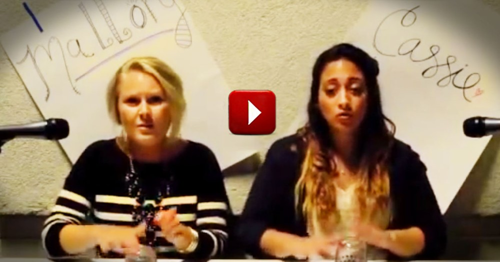 You Won't Believe The Beautiful Music These Girls Make With CUPS! What A Way To Worship.