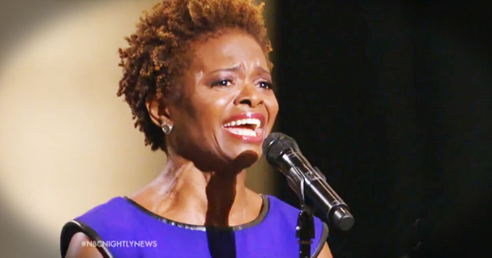 When I Heard Her Sing 'Amazing Grace' I Had Chills. When I Heard WHY She Sang I Sobbed!