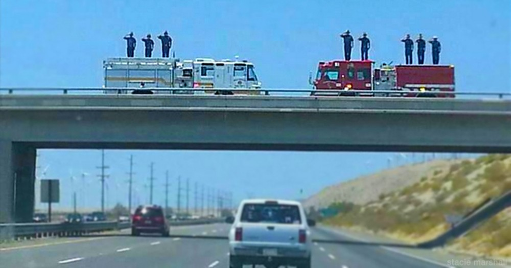 A Firefighter Died While Saving Others. And This Tribute Lasting 500 Miles Made Me Cry 500 Tears!