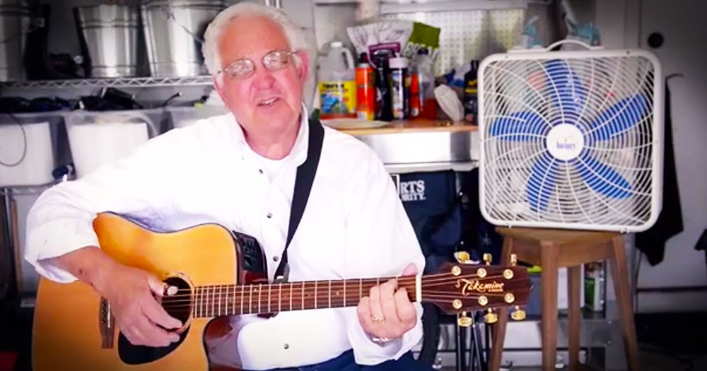 You'll NEVER Guess Why This 83-Year-Old Is Singing The Blues. His Secret Made Me LOL!