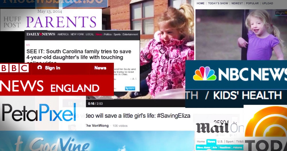 How Total Strangers Are Trying To Save A Little Girl's Life Will Restore Your Faith In Humanity!
