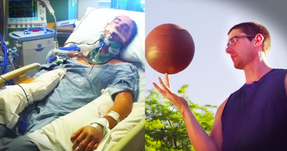He Didn't Just Have a Near-Death Experience, He DIED.  And Now He's Sharing His Miracle.