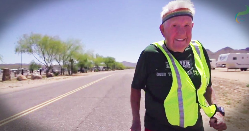 This 90 Year Old WWII Vet Is Doing Something I'd Never Even Attempt. He's Officially MY New Hero!