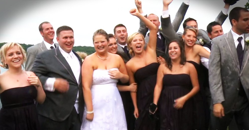 This Bride Was So Excited to Marry her Groom, That Not Even This Disaster Could Take Her Joy!