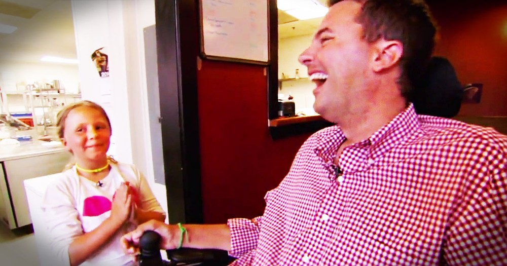 This Man Wants to Be Friends With The World.  And He's Not Letting A Terminal Illness Stop Him!