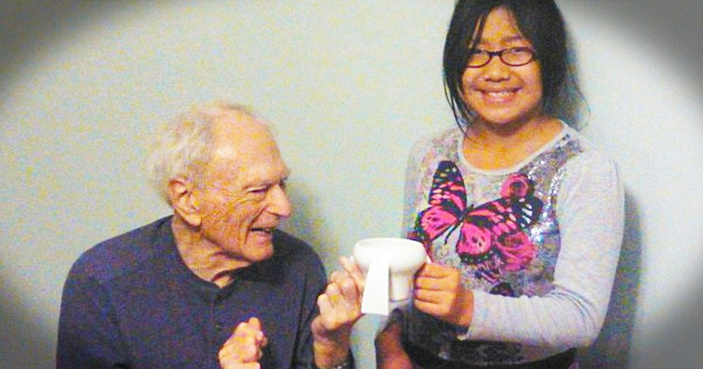 What This 11-Year-Old Did For Her Grandfather Moved Me To Tears. This Is Incredible!